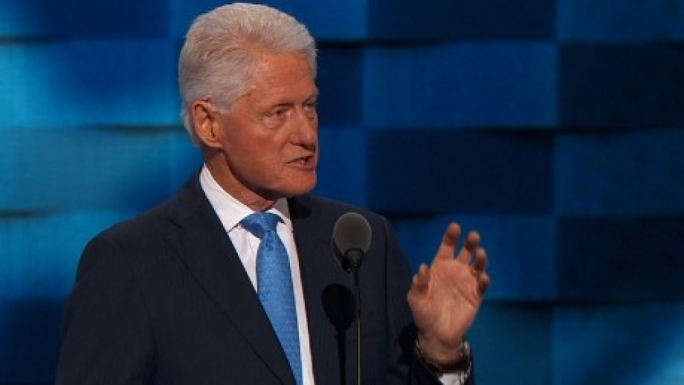 Bill Clinton: firmly part of the elite