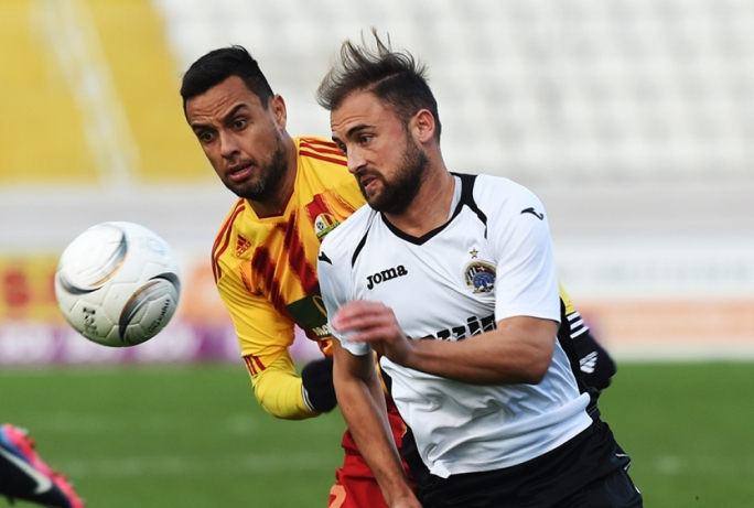 Andrei Agius saved Hibernians from their first defeat of the season against Birkirkara. Photo by Ray Attard