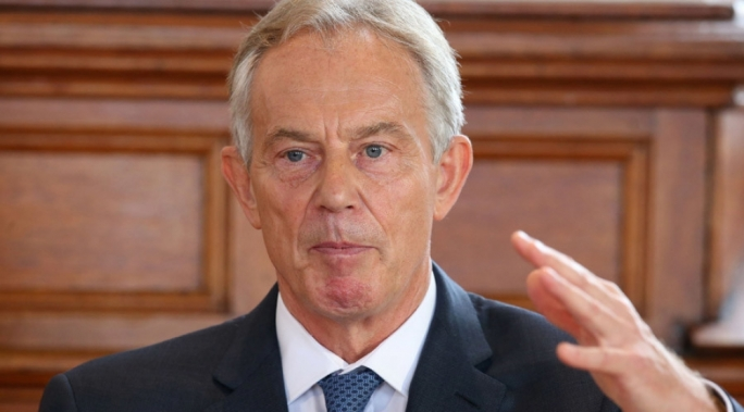 Former UK Prime Minister Tony Blair has endorsed Joseph Muscat