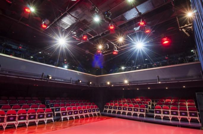 Blue Box theatre in Msida
