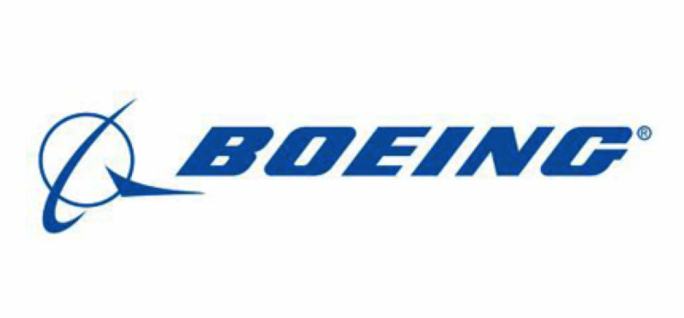 Boeing Co. shares are contributing the lion's share of the blue-chip average's gains.