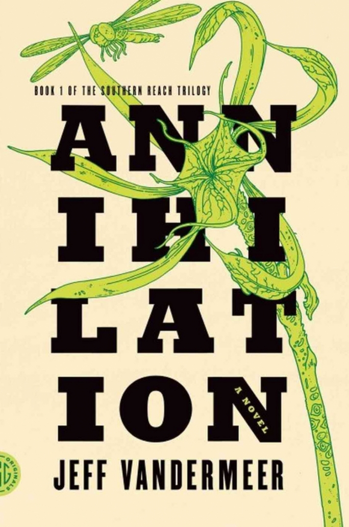 Tense: VanderMeer's expedition-thriller recalls films like Alien and The Thing.