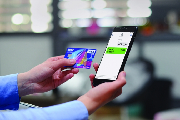 Bank of Valletta is introducing a one-step activation process applied to all cards
