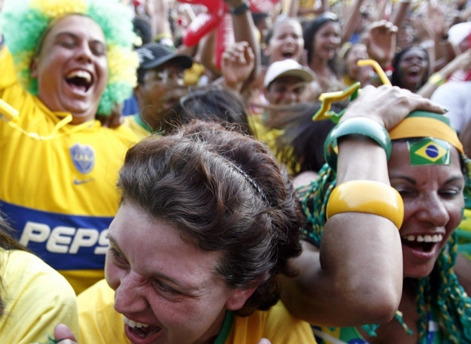 There is ample evidence that watching major sporting events can have a biological effect on the population. People have increased emotions when they watch sport.