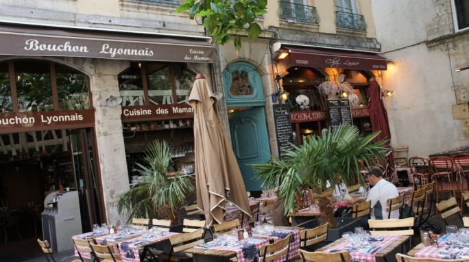 Bouchon: Lyon is considered the gastronomic capital of France, with traditional bouchons serving classic Lyonnaise cuisine