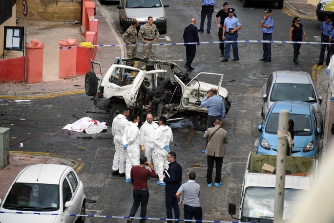 John Camilleri, 67, was killed by a car bomb in Bugibba