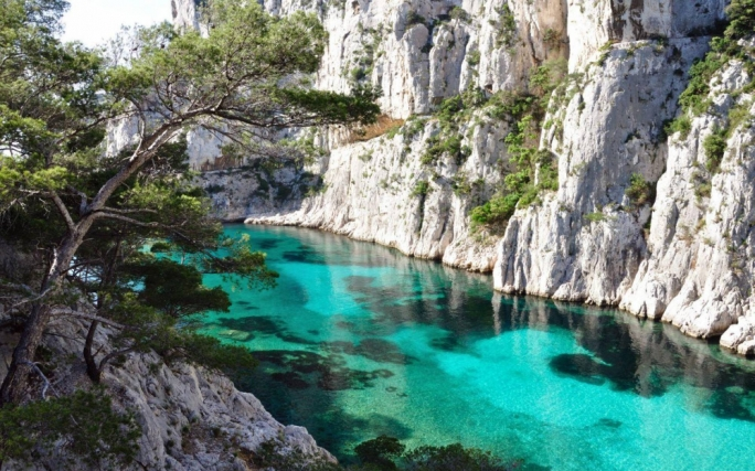 Calanques: The cliff faces and turquoise waters of Calanques add another dimension to the cultural city of Marseille