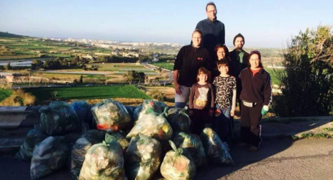 Camilla Appelgren is on a one-woman mission to clean up Malta