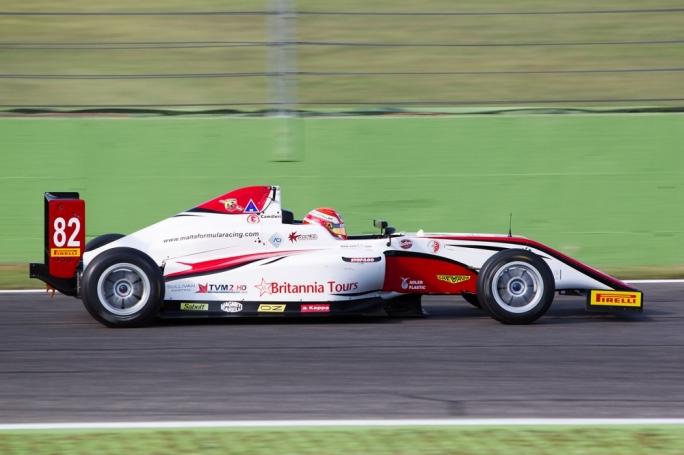 Maltese racer Keith Camilleri