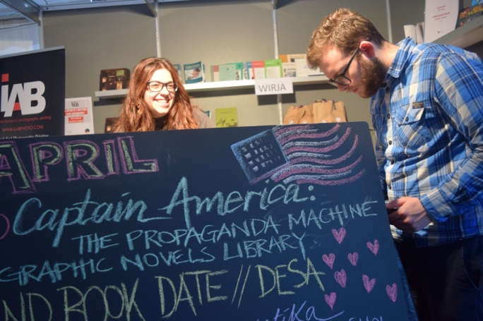 The 2017 Campus Book Festival will take place at University on 4, 5 and 6 April