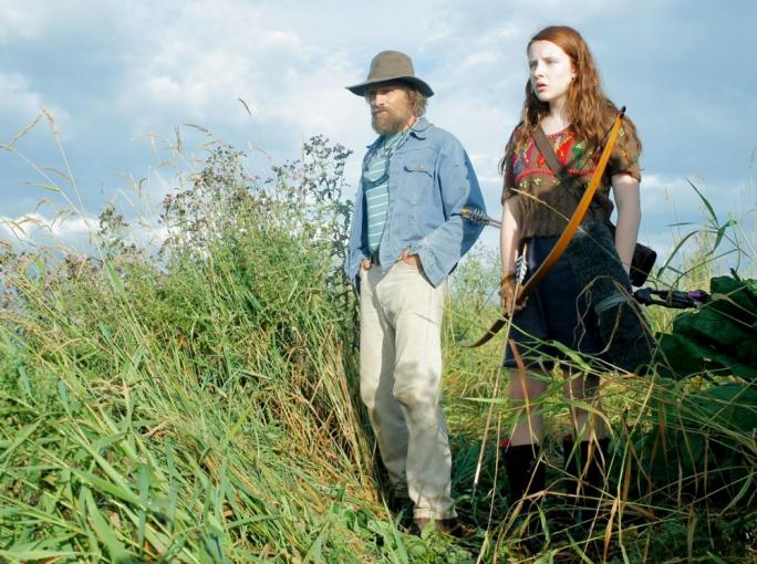 Into the wild: Mortensen and Samantha Isler