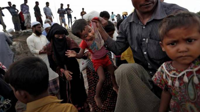 Rohingya refugees (Photo: the Daily Star)