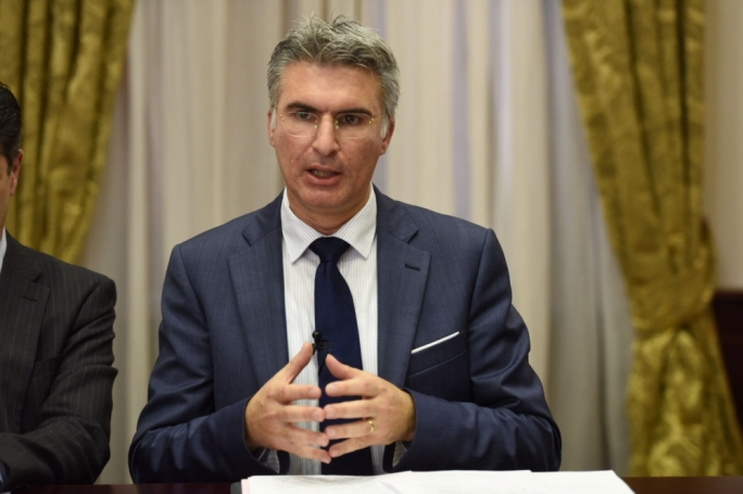 Foreign affairs minister Carmelo Abela