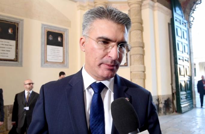 Carmelo Abela, Home Affairs Minister of Malta