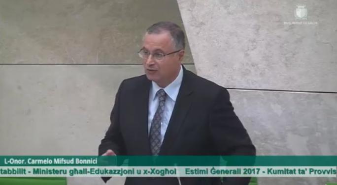PN MP Carmelo Mifsud Bonnici
