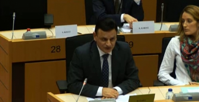 PN MEPs David Casa and Roberta Metsola tried to grill Konrad Mizz about his Panama company