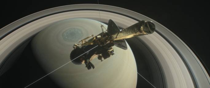 Cassini as it makes its final approach to Saturn (Photo: NASA)