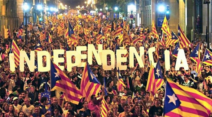 Catalonia held a banned independence referendum on 1 October