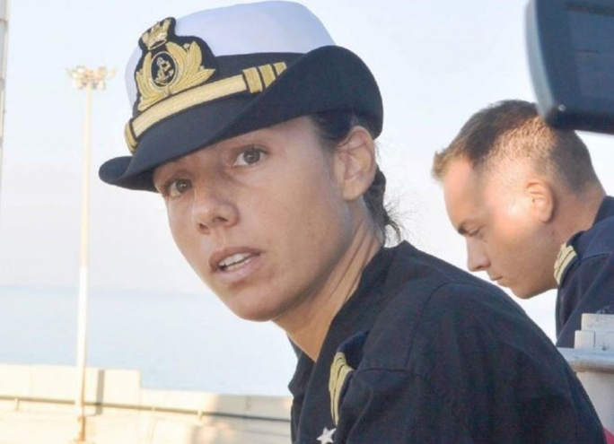 Catia Pellegrino who was awarded a presidential medal of honour is among the officers under investigation