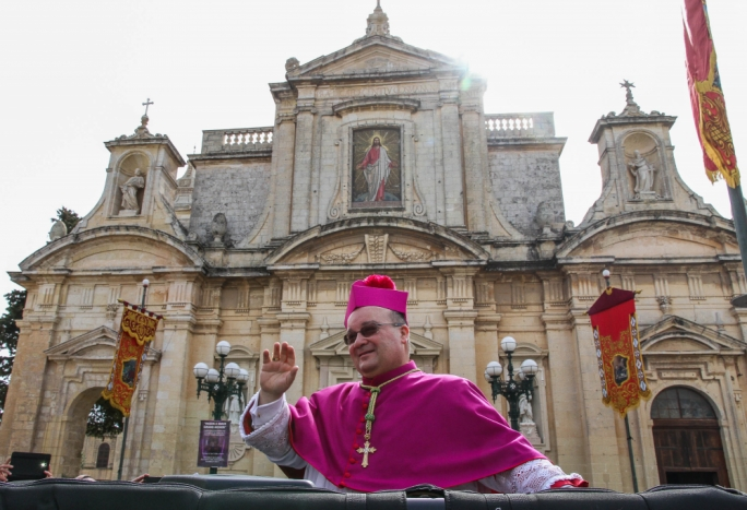 Opening the doors to the Catholic Church: Archbishop Charles Scicluna and Gozo bishop Mario Grech say divorced Catholics at peace with God should be given Holy Communion