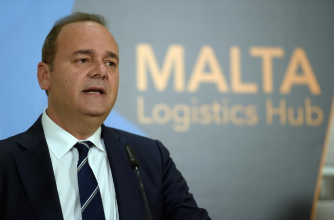 Economy Minister Chris Cardona during the launch of the request for proposals in October 2016 (Photo: DOI)