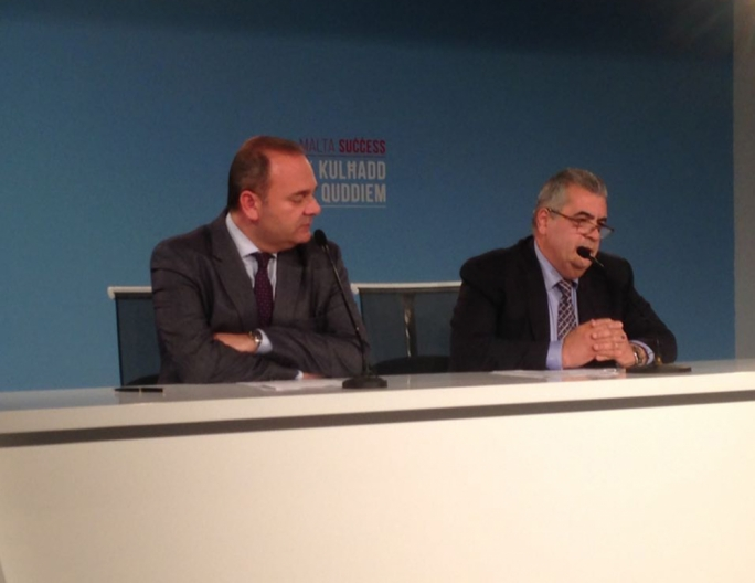 Economy minister has challenged PN deputy leader Beppe Fenech Adami to publish his bank statements
