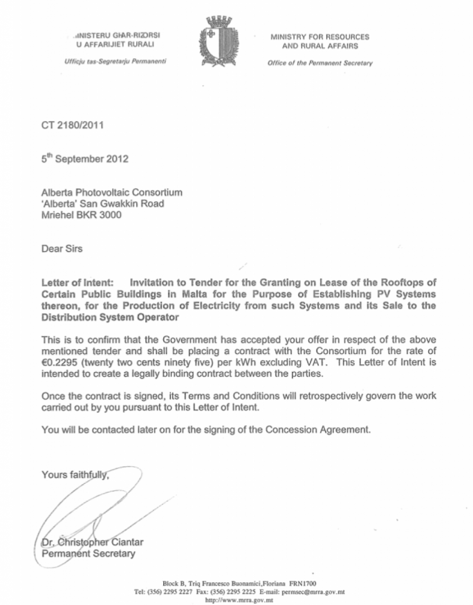 WATCH Mizzi says letter reveals Pullicinos direct involvement in – Letter of Intent Contract