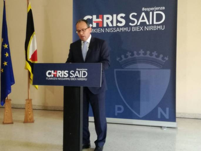 Chris Said insisted it was imperative for the PN's next leader to have integrity