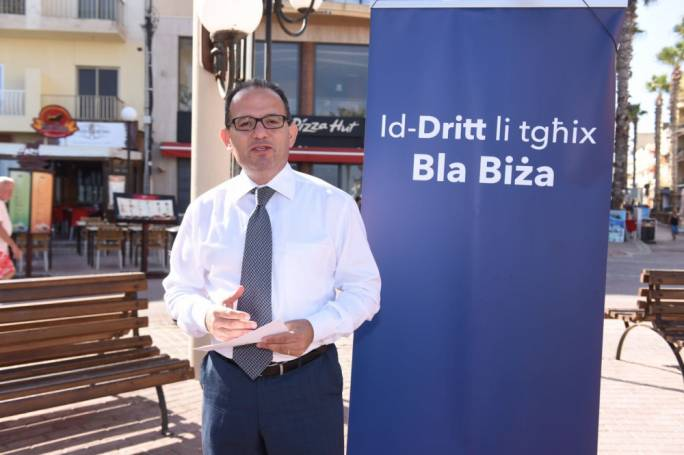 Chris Said his first priority as PN leader would be to reunite the party