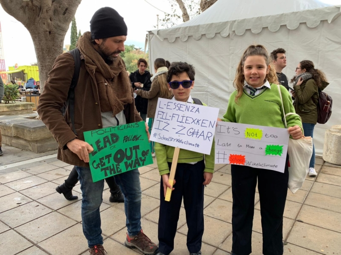 Skip school, join global 'climate strike' to preserve their future