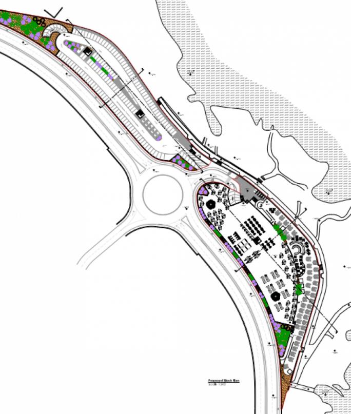 Coast road plan