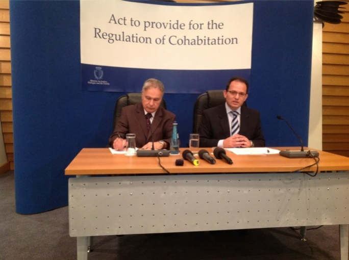 Justice Minister Chris Said launches Malta's first law to regulate cohabiting couples.