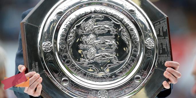 Community Shield trophy