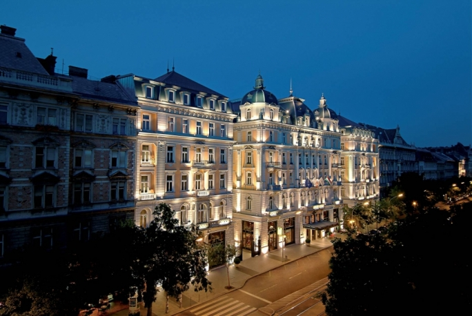 The Corinthia Budapest, one of the hotels owned by IHI