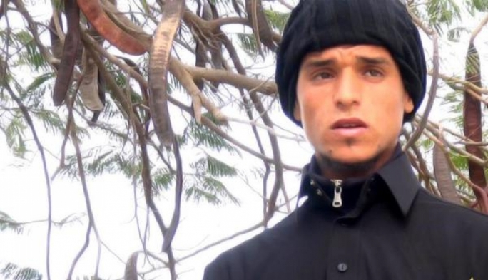 Photo of suspected suicide bomber Abu Ibrahim of Tunisia, shared on the Twitter feed of the Islamic State in Tripoli