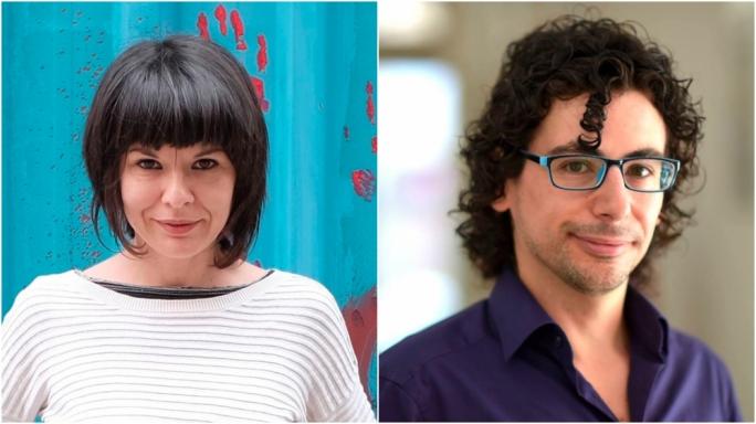 Cristina Ghinassi and Edward Duca