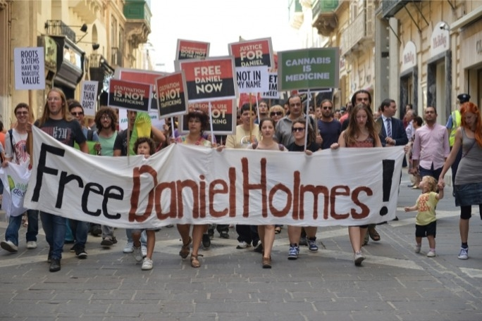 In 2013, an appeals' court confirmed a 10-and-a-half-year sentence for the cultivation of cannabis- a judgment that triggered protests at Malta's severe drug laws.