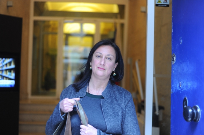 Daphne Caruana Galizia killed in Malta vehicle bomb blast