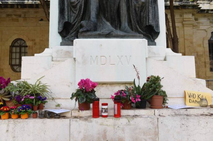 Former Labour MP counters activist's constitutional case on Caruana Galizia memorial