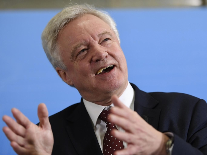 Brexit secretary David Davis reaffirmed the Government's commitment to concluding Brexit negotiations in two years