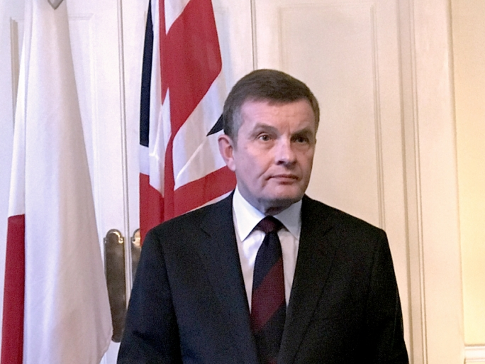 David Jones, UK Minister for the Department for Exiting the European Union