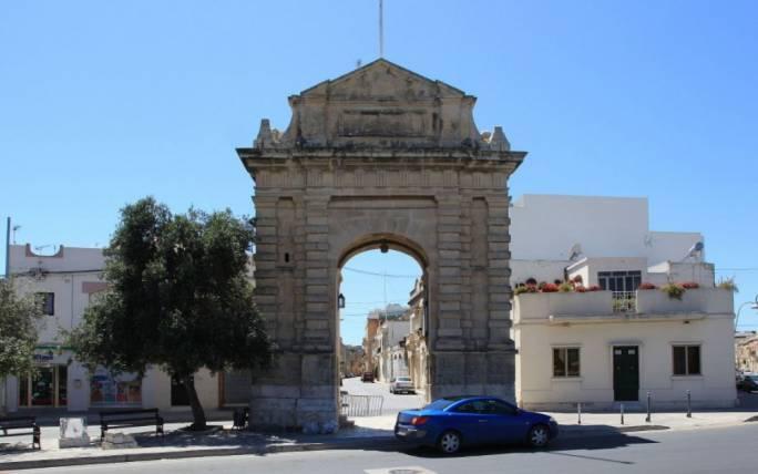 The De Rohan Gate in Haz-Zebbug, which was restored through the scheme (Photo: Wikipedia)