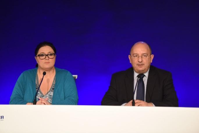 Deborah Schembri and Michael Farrugia