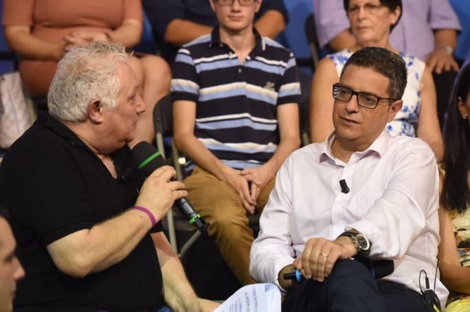 Peppi Azzopardi (left) and Adrian Delia (right)