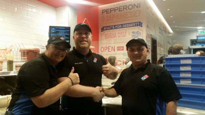 Domino's are'honoured to have served each one of you