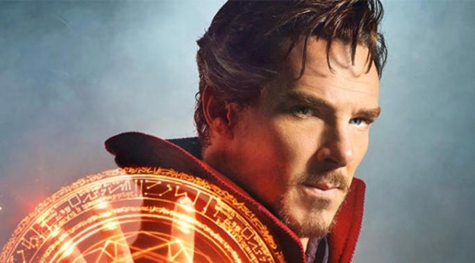 Practical magic: Baker-fresh photo of Benedict Cumberbatch as Marvel's Dr Strange