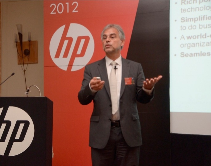 Herbert Rastbichler, Vice-President and Managing Director for HP's Central Eastern Europe