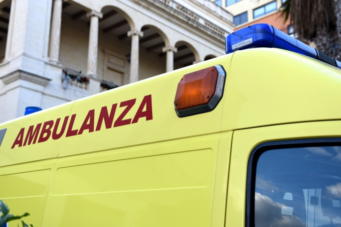 77-year-old hospitalised following collision