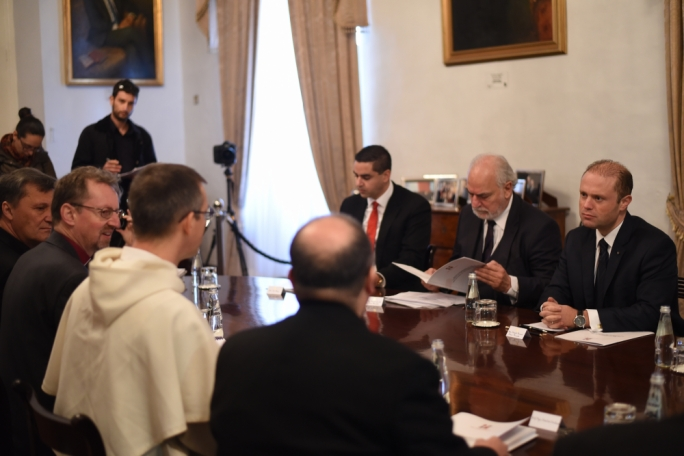The Maltese Church presented 'its reflection in a spirit of dialogue' (Photo: James Bianchi/MediaToday)