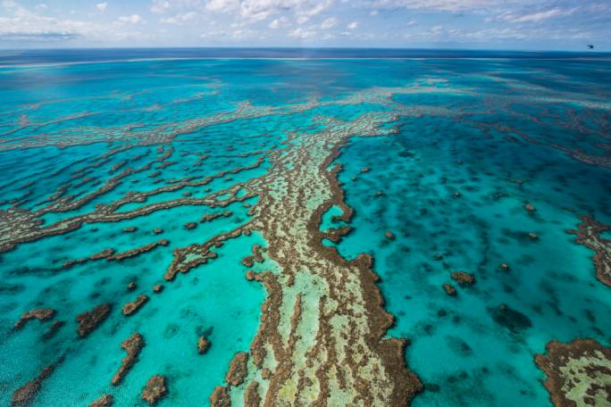 The Great Barrier Reef - an underwater treasure